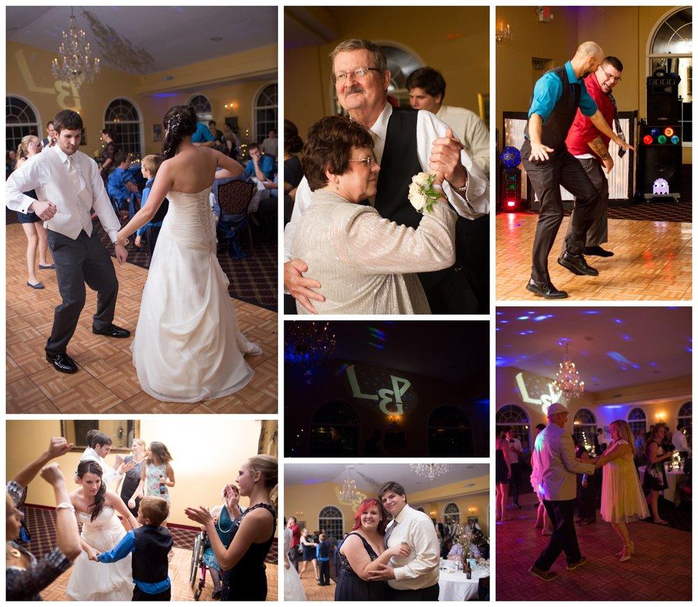 Wedding Dancing Wedding Celibration | Michigan Wedding Photography | Alyssia Booth's Candid & Studio