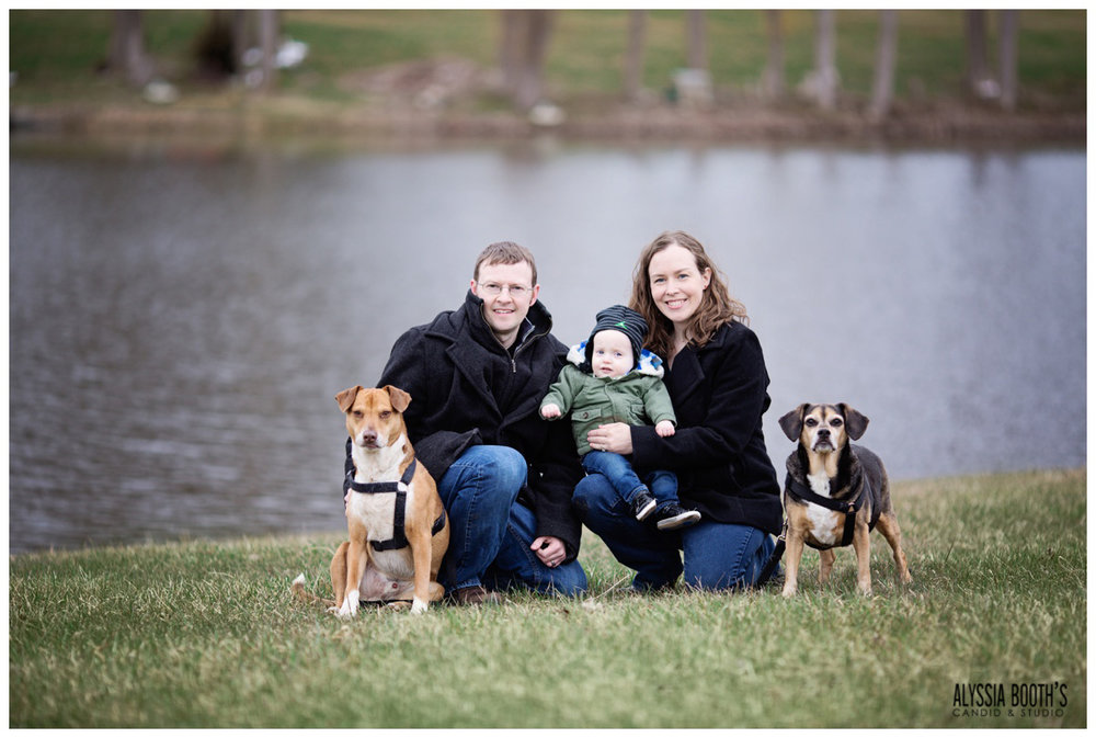 Early Spring | Pets & Family Photo Session | Michigan | Alyssia Booth's Candid & Studio