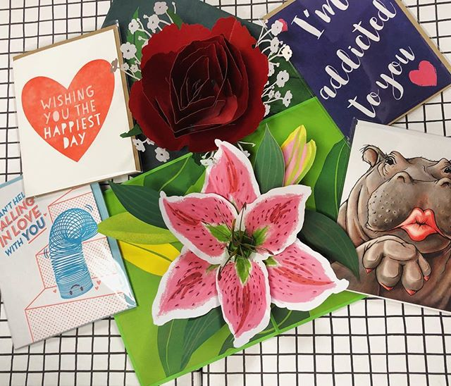Need a card for that special someone this Valentine's Day? Come check out our sweet selection of cards from @lovepop, @secondstorycards, and more! • • • • • #valentinesday2019 #valentine #stationery #valentinecards #greetingcards #justpaperandtea #washingtondc #dcstationery