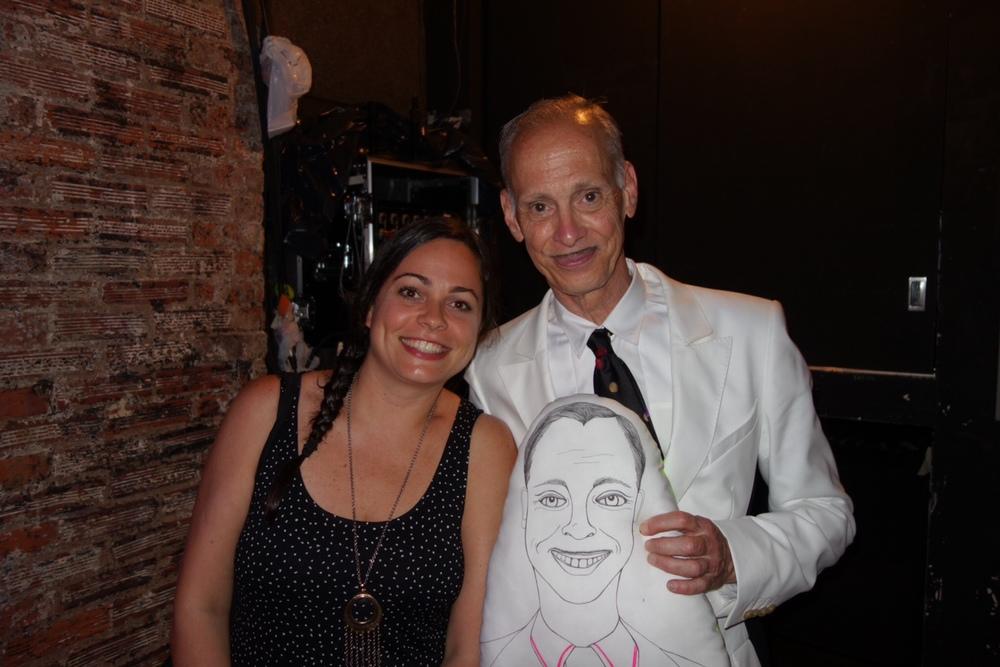 I met John Waters!