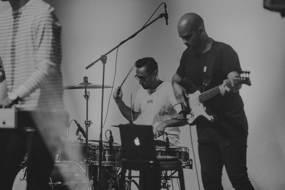 Matt Crook on Drums