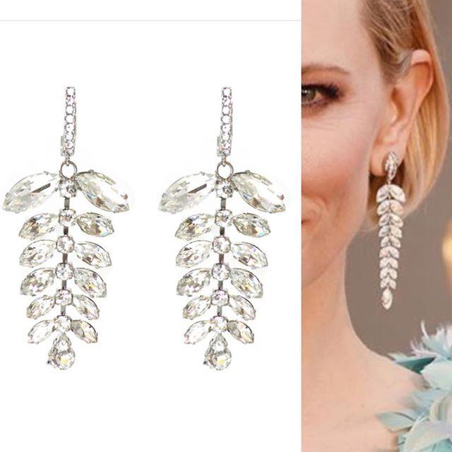 We couldn't help but notice how stunning and similar Cate Blanchett's earrings are to our Astor Earrings!!!! #madamemathilde #oscars #redcarpet #redcarpetfashion #redcarpetbling #acadamyawards #cateblanchett #oscars2016 #bestdressed