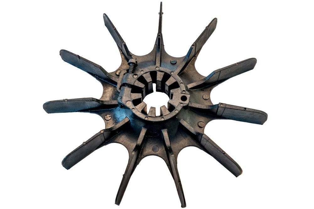 Pump Motor Fan Blades