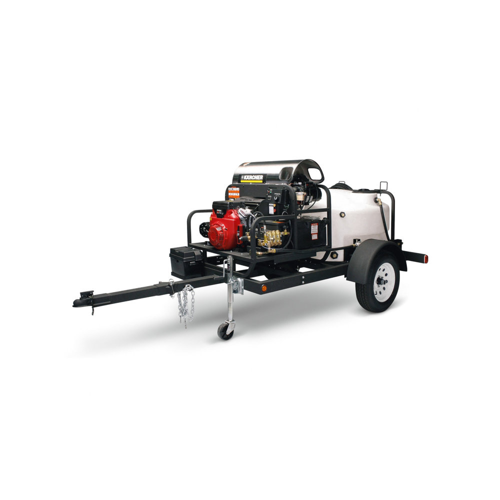 Shown with option hot water pressure washer skid