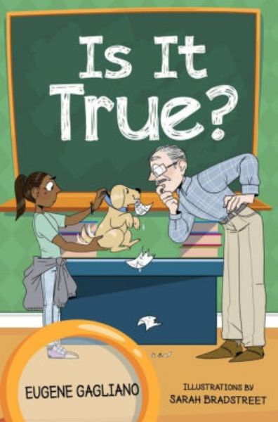 "Is It True? is a delightful collection of children's humorous poetry that children will want to read over and over. It encourages parents to interact in an enjoyable way with their children, to help them understand the many misunderstandings of common expressions used in our daily language.   The book explores a child's perception of adult sayings like:   ""Your father's in the dog house""  ""Lost your marbles""  ""Double jointed""  What makes perfect sense to an adult sounds strange to children. They tend to be literal about what parents say, taking things out of context. As adults, we become desensitized to the exact meaning of subtle sayings we use daily.   Explore these saying with your children. Whether they come up naturally or are discovered in Is It True?, this illustrated book helps you laugh and learn with your children as they grow up."