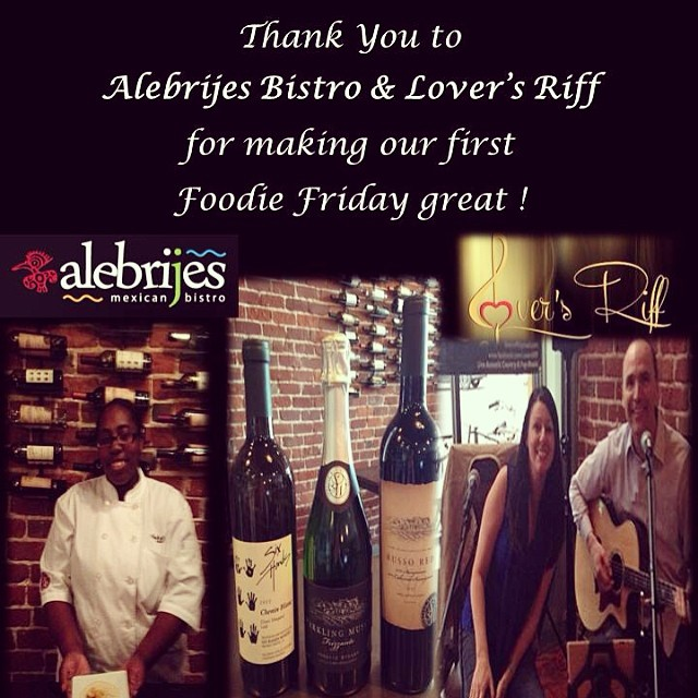 Thank you for making our first Foodie Friday great!!