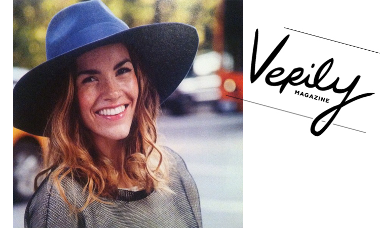 Verily Magazine article on How to survive winter hat hair, featuring Kordal sweaters & hats // Nov 2013