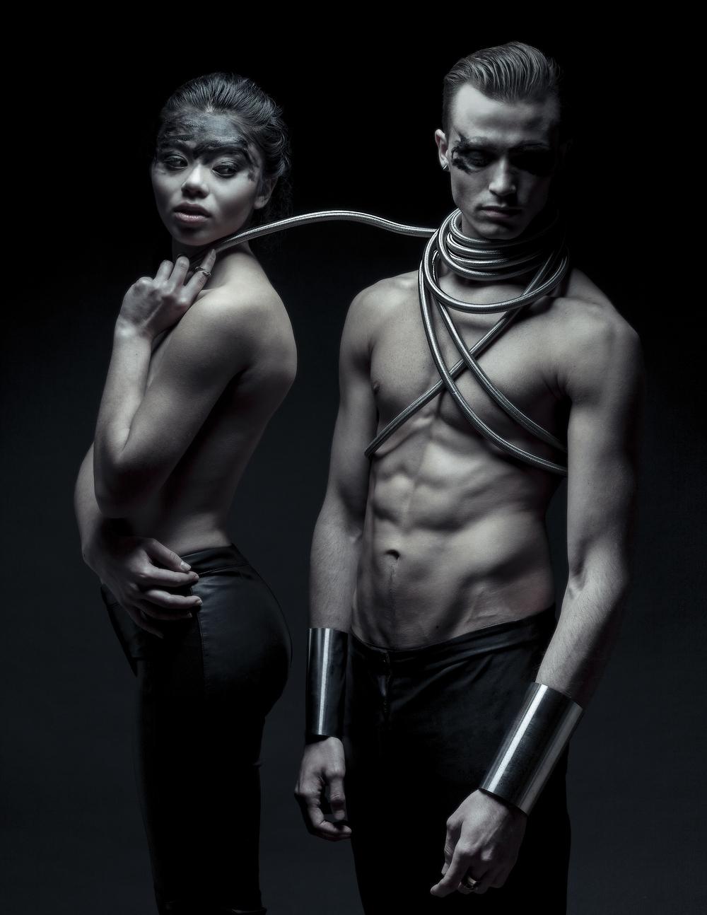 John Towner Stylist Bryan Villalobos Models Crystal & Tyler