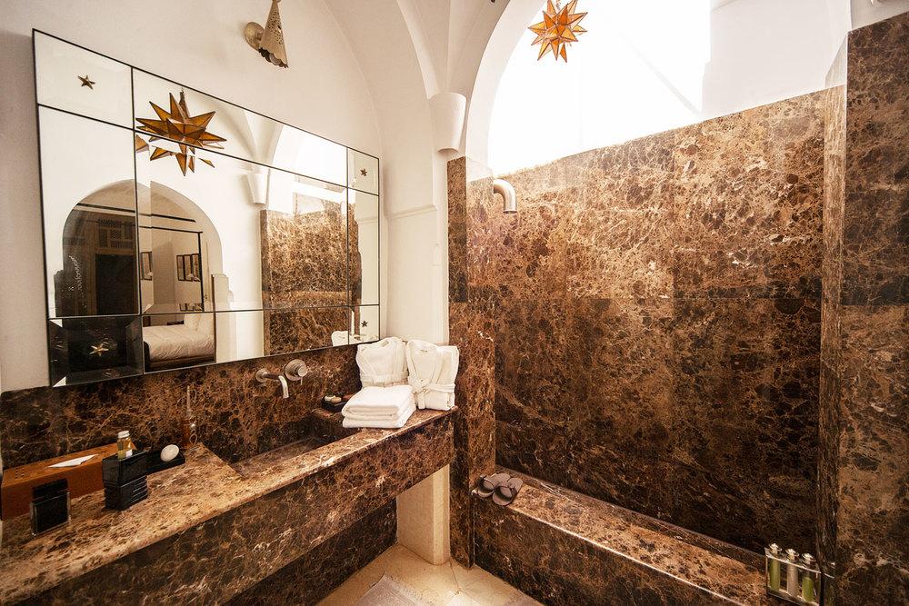 Stunning Salle De Bain Marocaine Tadelakt Photos - Lalawgroup.Us