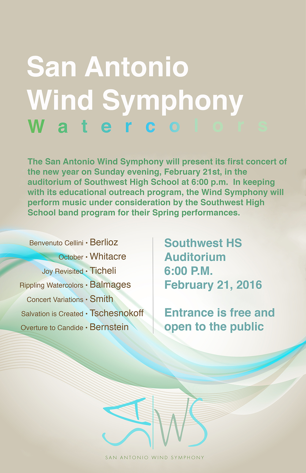 "an introduction to the wind symphony '07 grad to perform with university wind symphony and symphonic winds the wind symphony concert will include ""for the ""introduction and vivace"" by."
