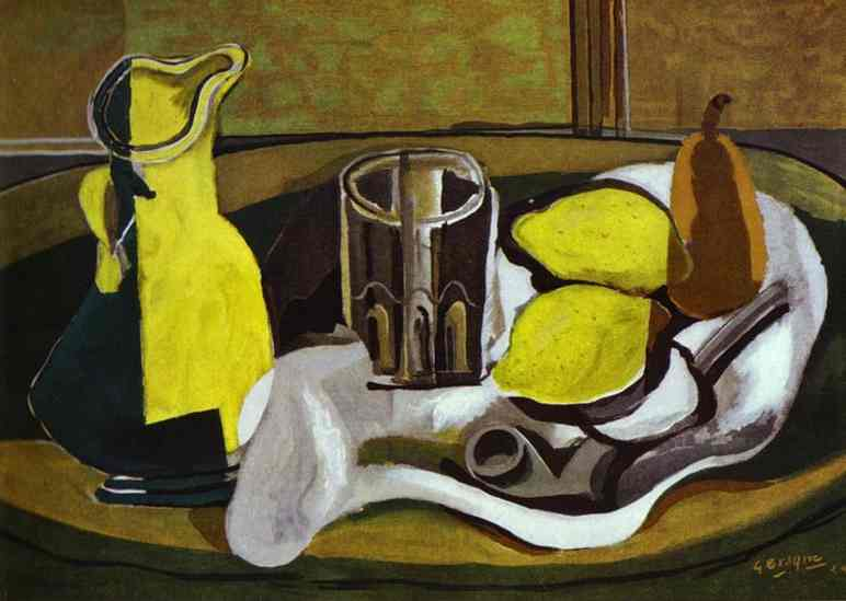 Georges Braque,  Still Life with Lemons , 1929
