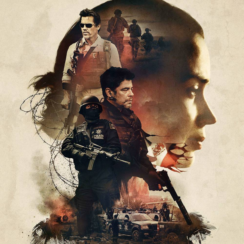 Official Sicario poster