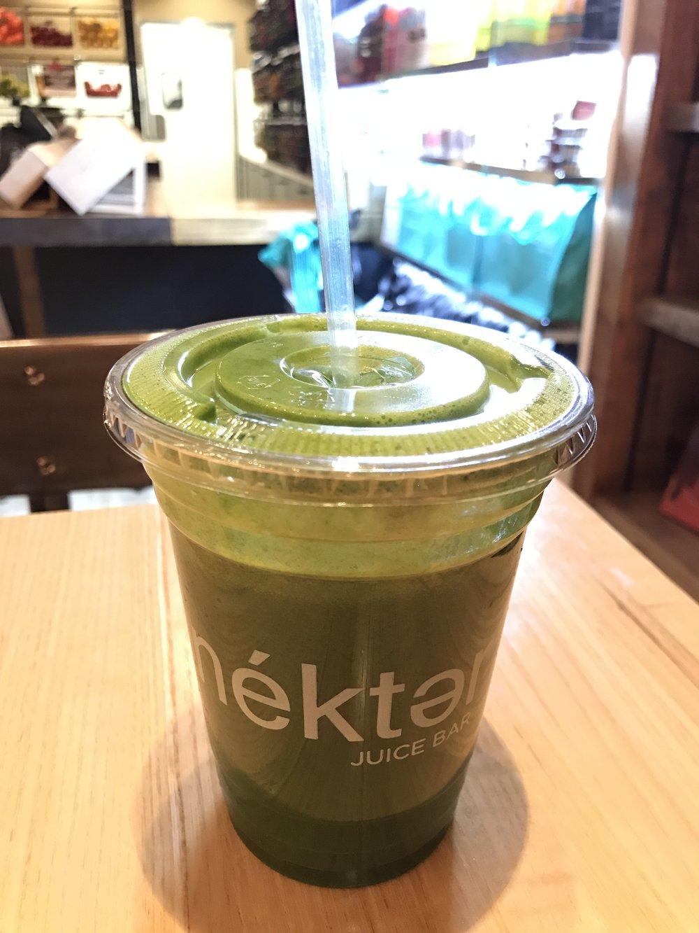 """The Greenie""-Nectar Juice Bar"