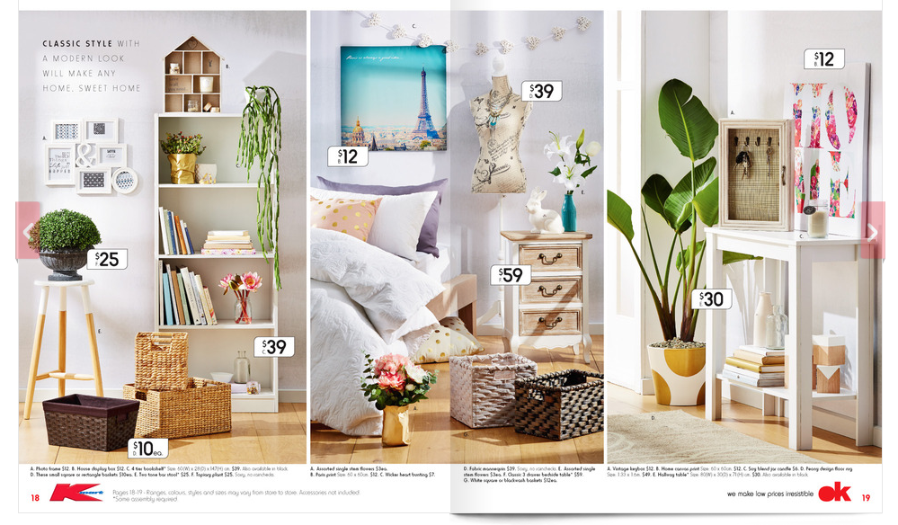 homewares home decor kmart australia