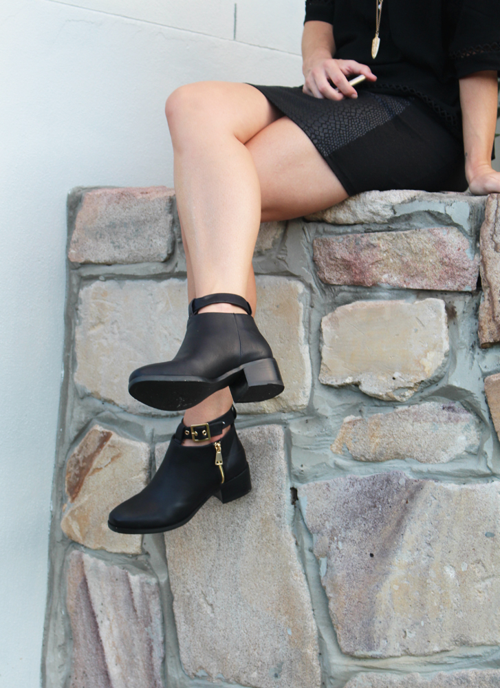Autumn ankle boots from THE ICONIC on Mum's Closet blog Gold Coast