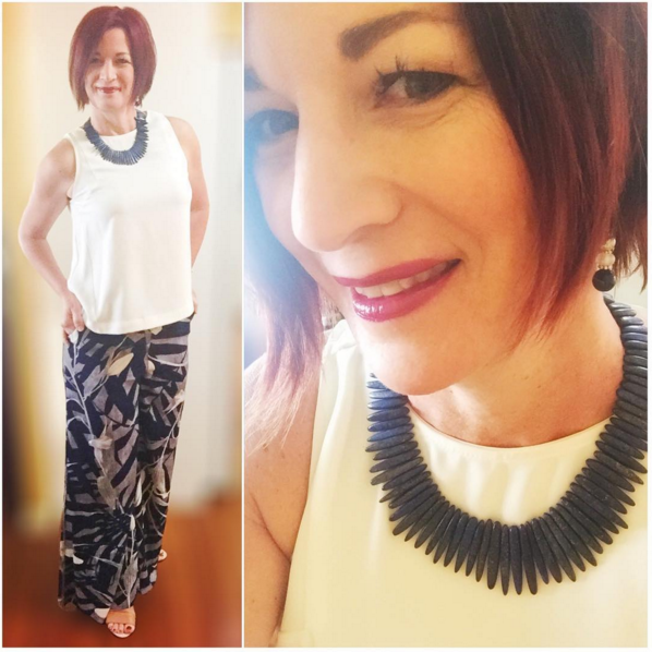 Fiona from Sister in Style on Instagram with Mum's Closet