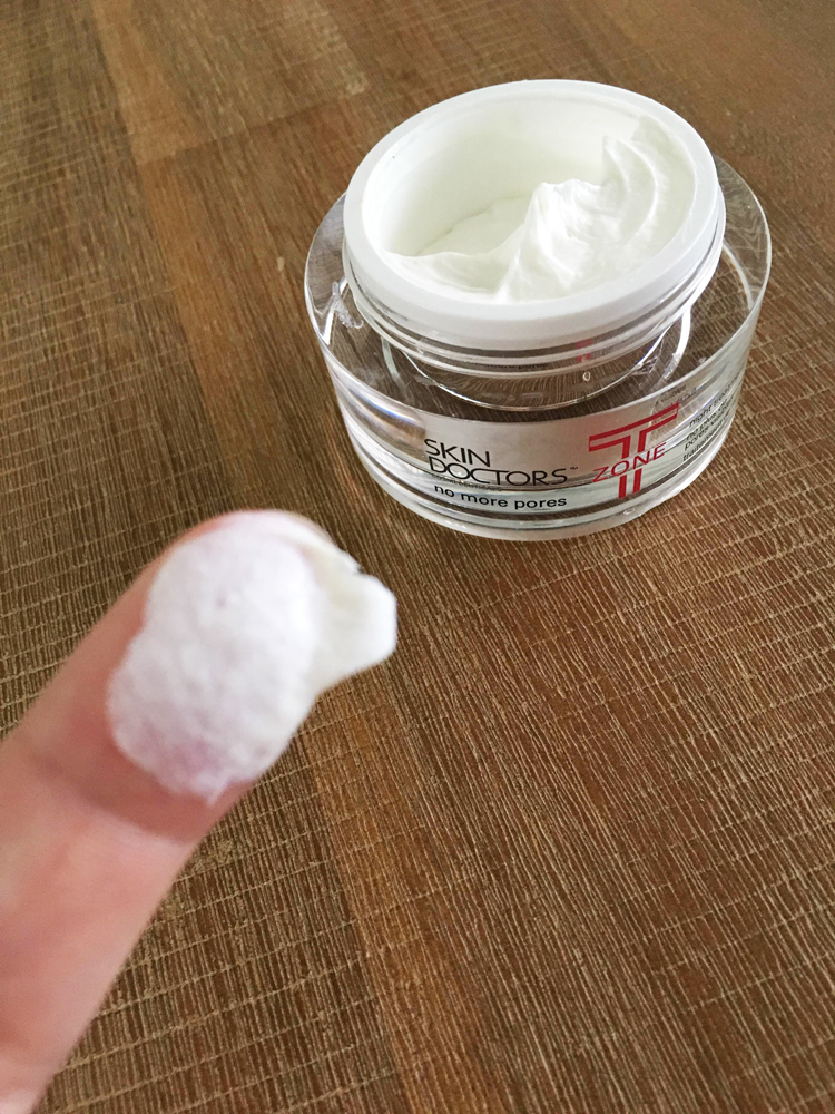 T-Zone Oily areas for acne pimple breakout skin by Skin Doctors review by www.mumscloset.com.au