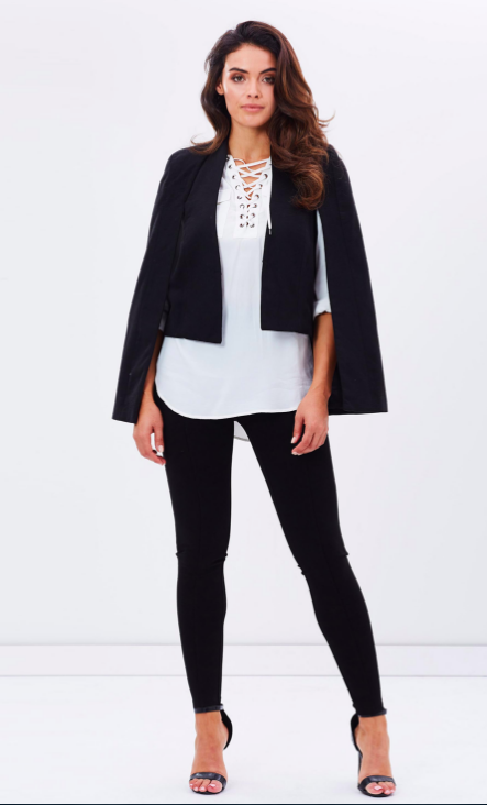Into The Woods Cape by Fresh Soul on THE ICONIC // $149.94 // BUY HERE