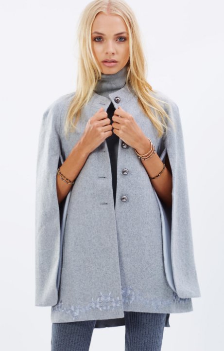 Eliza Cape Coat by We areKindred on THE ICONIC // $179.50 (SALE) // BUY HERE