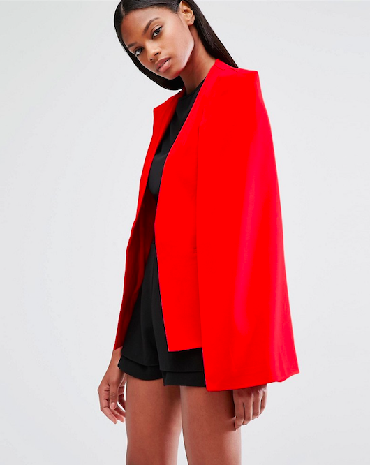 Lavish Alice Cape on ASOS // $117 // BUY HERE