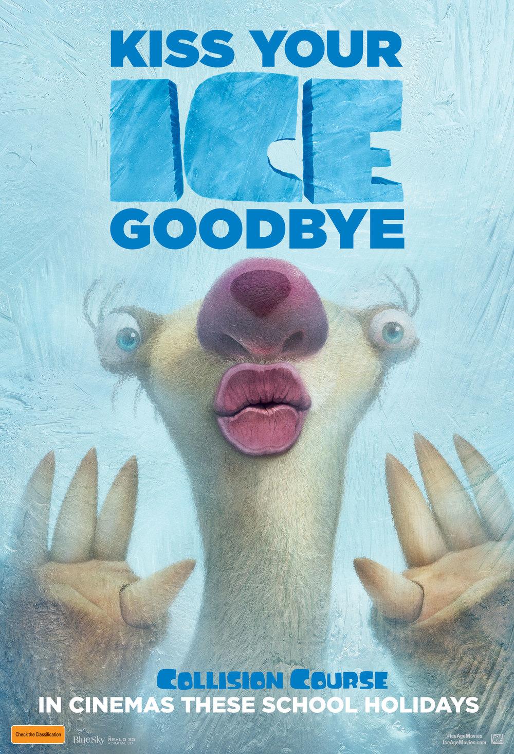 Ice Age Collision Course in Cinemas school holidays. Win movie tickets on www.mumscloset.com.au