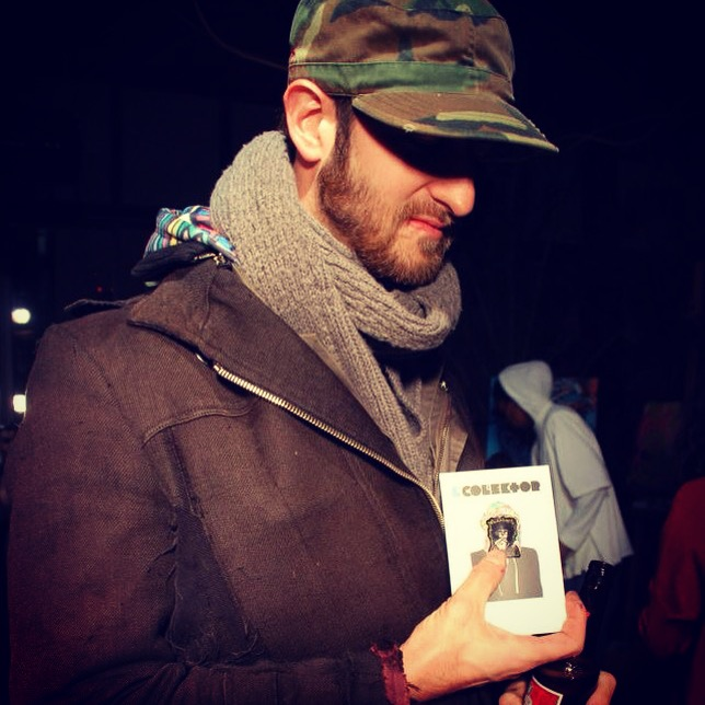 Joseph Meloy at our event with Collage NYC