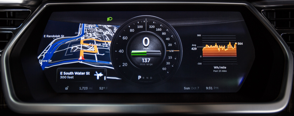 Tesla Model S Dashboard (http://armormax.blogspot.ca/2012/11/tesla-motors-model-sarmored.html)