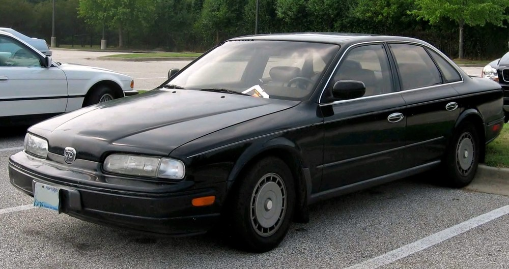 Infinity Q45 without grille.