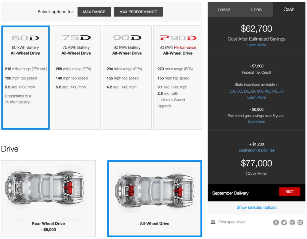 Actual Tesla Motors Model S Design Studio