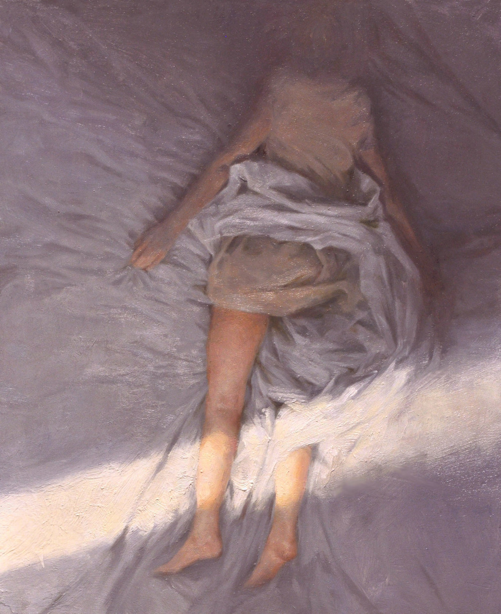 Madrugada , oil on board, 11x9.5in, 2010