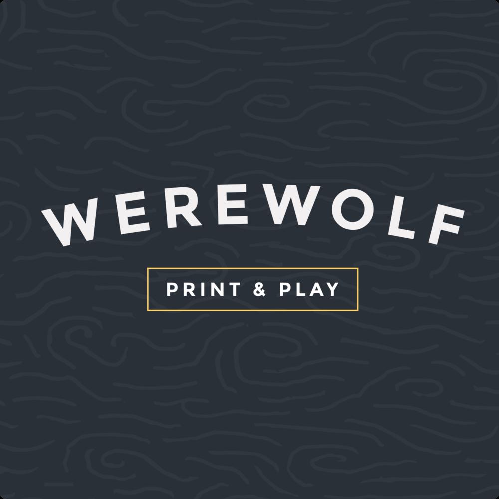 Werewolf Card Pdf