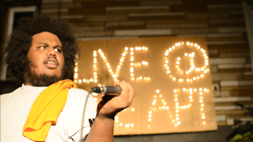LIVE @ THE APT (Michael Christmas + Sign).png