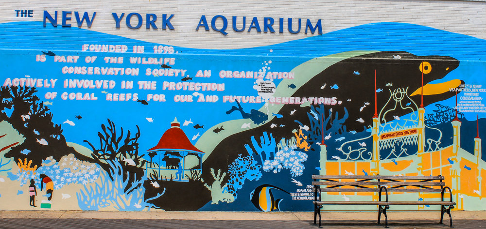 2006 New York Aquarium Mural, Photo Credit: Liz Summit, 2013