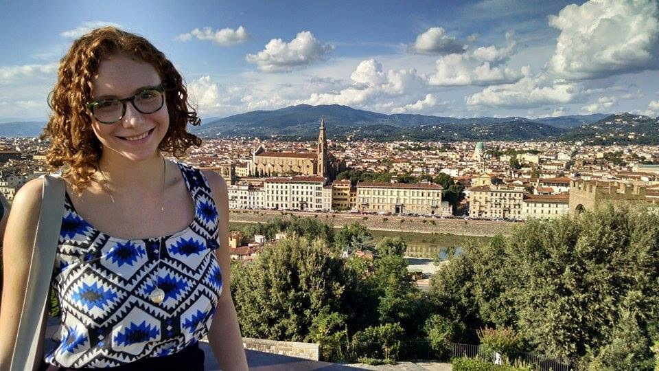 Bye for now, Florence!