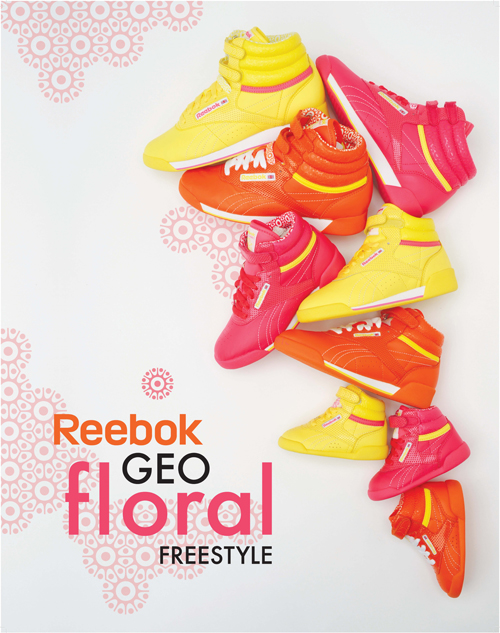 Advertisement for Reebok by Nashville commercial photographer Allan Clark