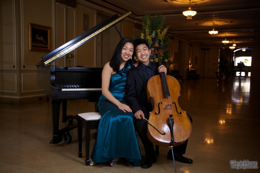 Sylvie and Bryan Cheng