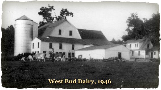 West End Dairy farmed the land for over 100 years.