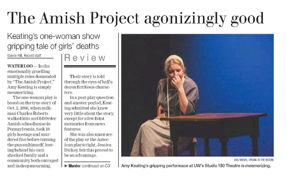 Read a review from our 2014 production