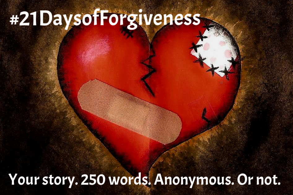 21DayofForgiveness | Online public submission project around THE AMISH PROJECT