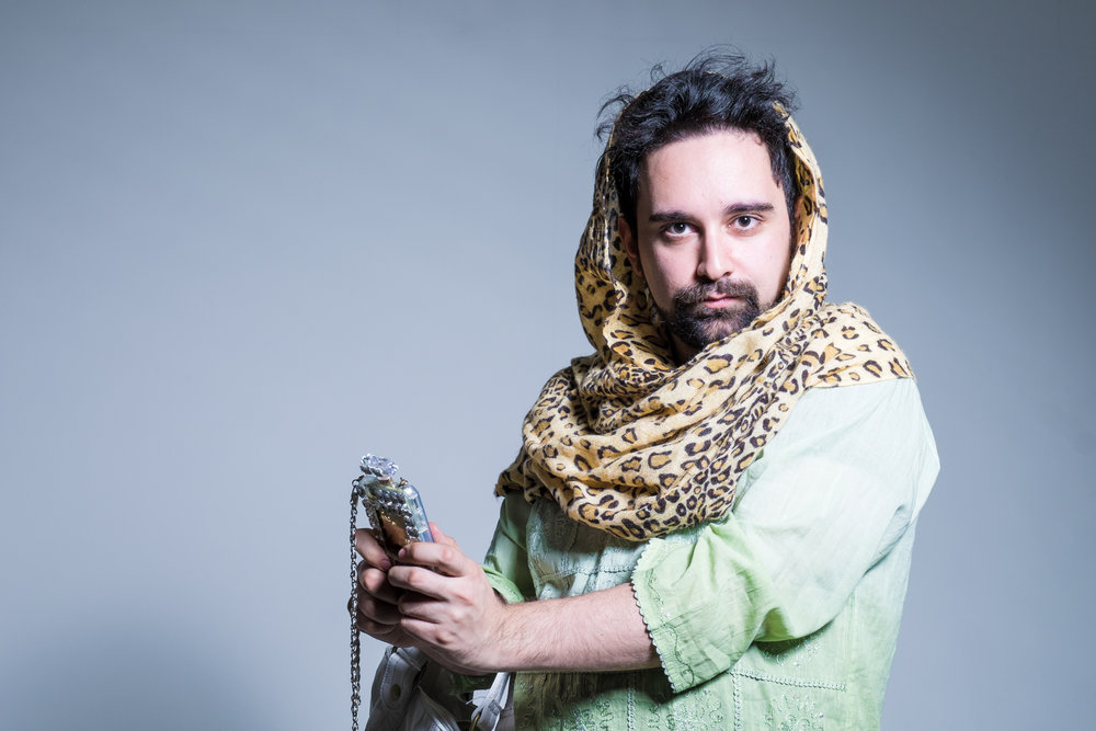 Featuring: Izad Etemadi as Leila. Photo by Al Smith.