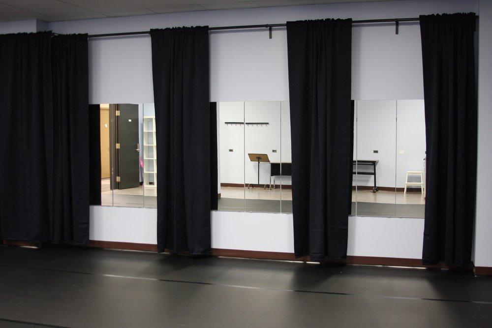 Photo of rehearsal hall at 44 Gaukel courtesy of  ArtsBuild Ontario
