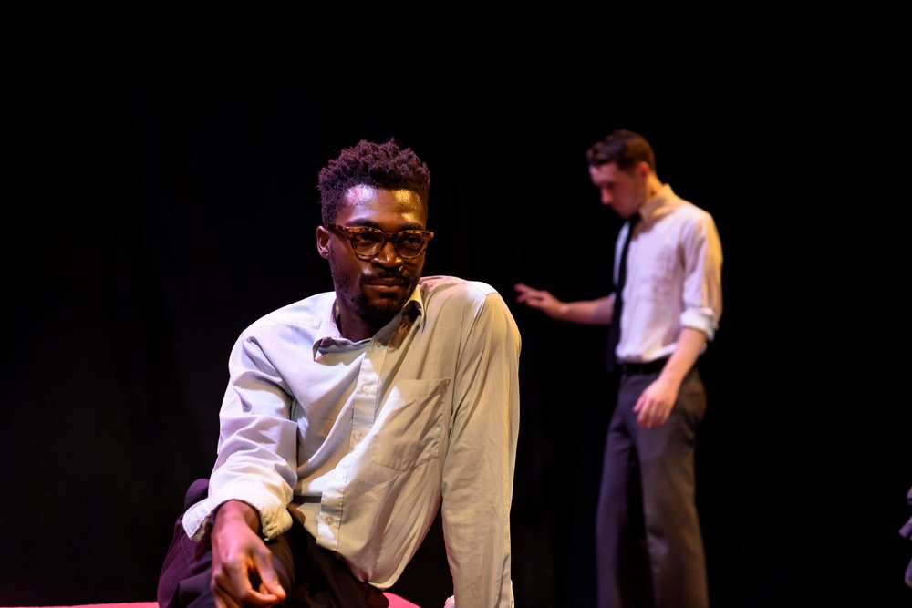Photo of Kwaku Okyere and Conor Ling  .