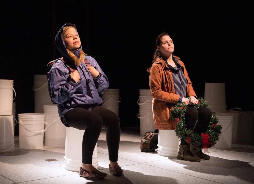 Virgilia Griffith and Michaela Washburn in Guarded Girls photo by Cylla von Tiedemann