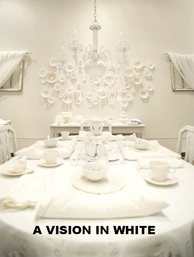 A Vision In White - Installation in Constance Gallery January 2011