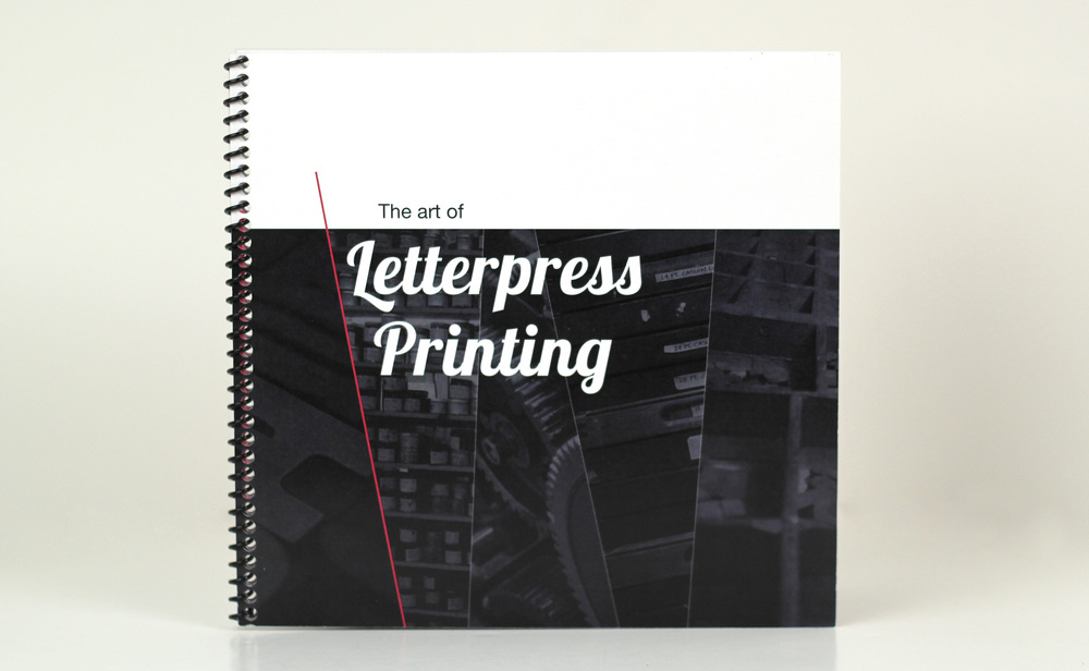 Letterpress Printing - Abbie Wessel Design - Front Cover