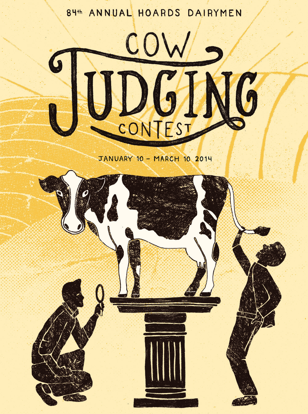 Cow Judging Poster - Abbie Wessel