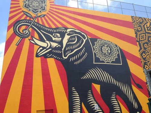 Bigger than life Shepard Fairey