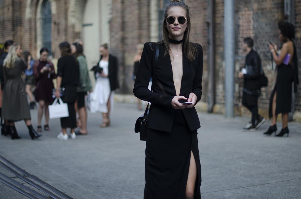 mbfwa - dion lee - fashion week - all black