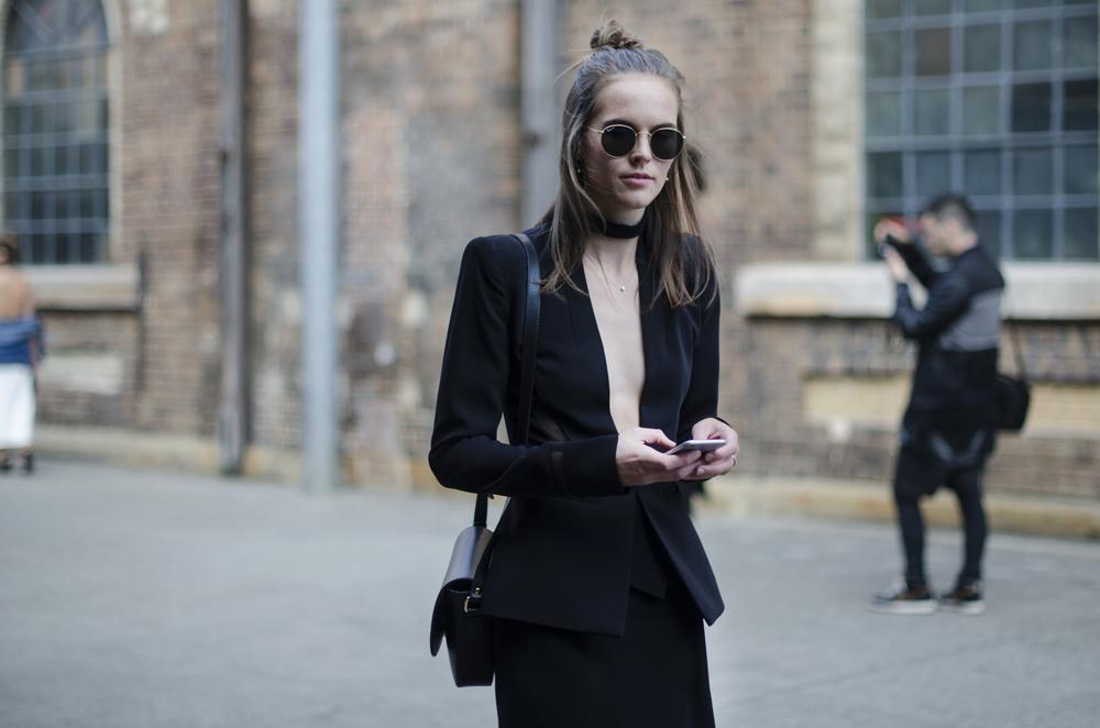dion lee - mbfwa - style blog - black blazer