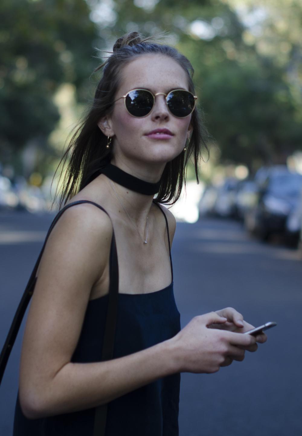 mbfwa - silk dress - style blog